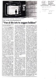 Liesbeth pers 1992